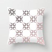 Checker C3 Throw Pillow