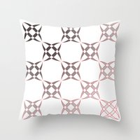 Checker C3 Throw Pillow