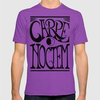 Carpe Noctem Mens Fitted Tee Ultraviolet SMALL