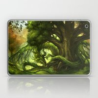 Green Dragon Laptop & iPad Skin