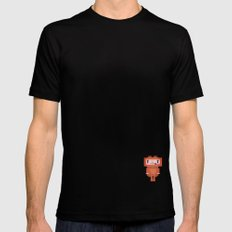 Space-cation Black SMALL Mens Fitted Tee