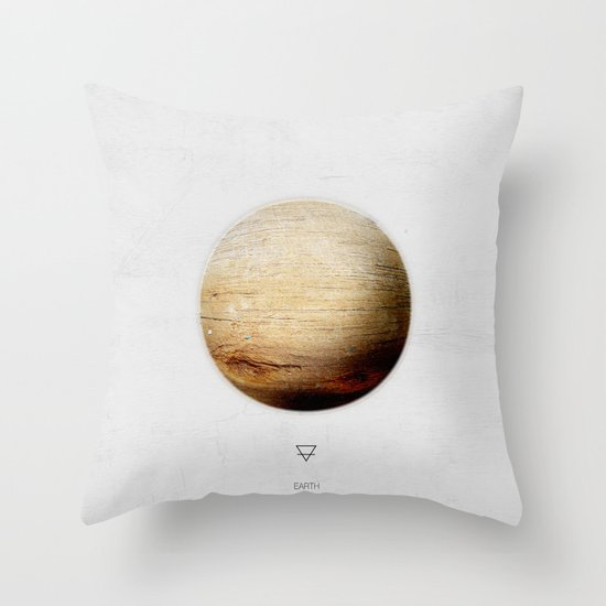 Element: Earth Throw Pillow