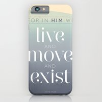 live / move / exist iPhone 6 Slim Case