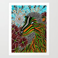 The Bixo Art Print