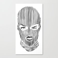 SKI MASK Canvas Print