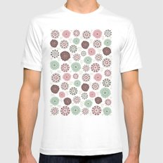 Sweet Mauve Mens Fitted Tee SMALL White