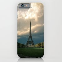 Paris, the Eiffel Tower in November iPhone 6 Slim Case