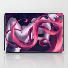 Swirly hair iPad Case