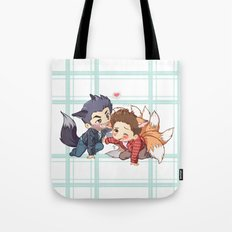 The Fox 'n The Wolf - Part 2 Tote Bag