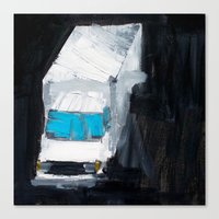 Movers Canvas Print