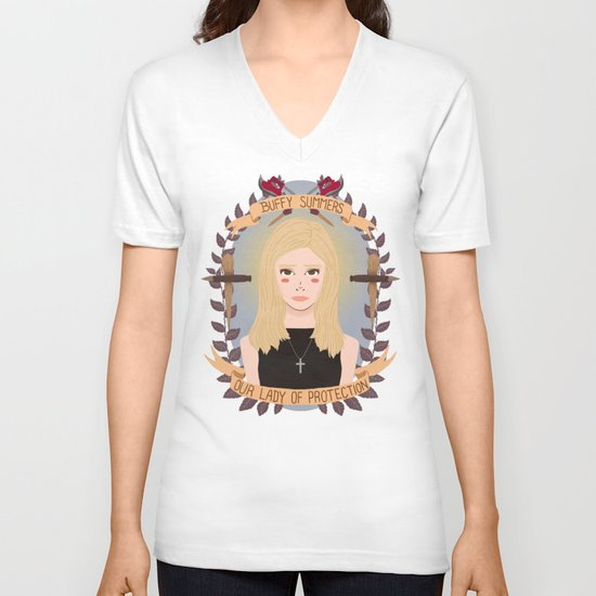 Buffy Summers V-neck T-shirt