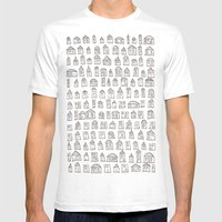 SACRIFICIAL HOMES (A) Mens Fitted Tee White SMALL