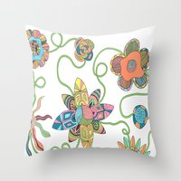 Feeling Alive Throw Pillow