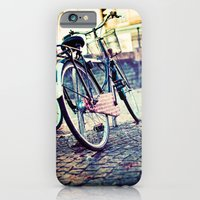 iPhone & iPod Case featuring Vintage Bike by Innershadow Photography