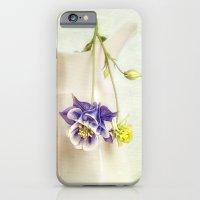 still life with Aquilegia iPhone 6 Slim Case