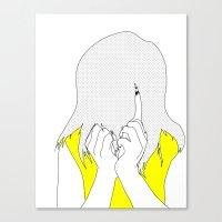 Nailbiter Canvas Print