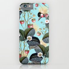 Strawberry Brush Hide-Out #society6 #decor #buyart Slim Case iPhone 6s