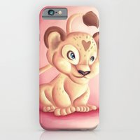 iPhone & iPod Case featuring Lena Lioness by parochena