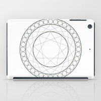 Anime Magic Circle 12 iPad Case