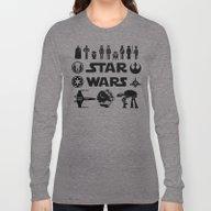 Star Characters Wars Long Sleeve T-shirt