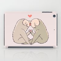 Sloth Kisses iPad Case
