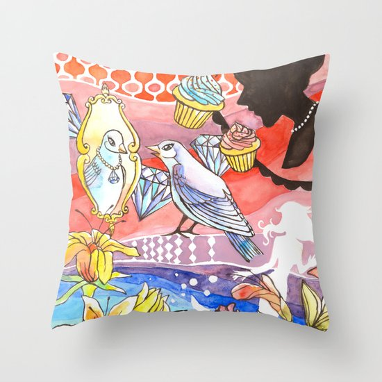 Vanity Dream Throw Pillow