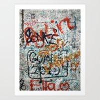 Berlin Wall Art Print