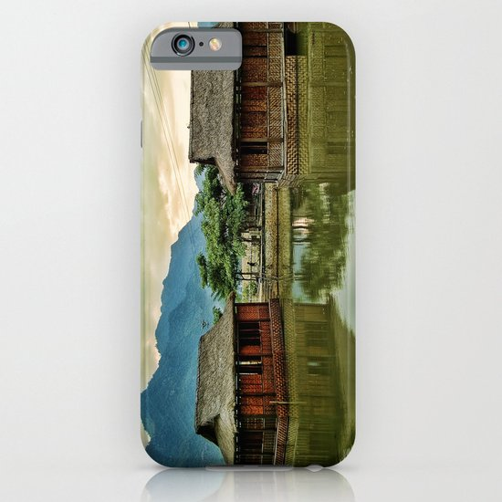 Water Huts iPhone & iPod Case