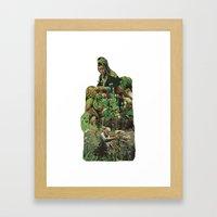 Cross Polination Framed Art Print