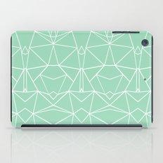 Abstract Mirror Mint iPad Case