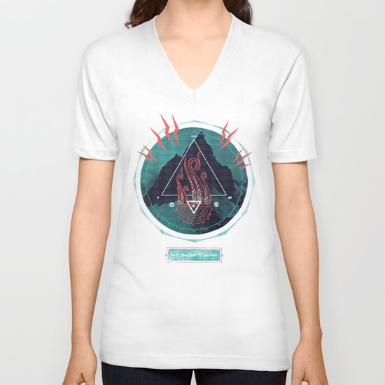 Mountain of Madness V-neck T-shirt