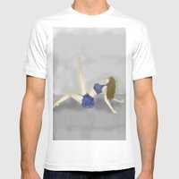 Dancing In A Fog Mens Fitted Tee White SMALL