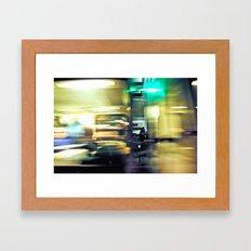Movement I Framed Art Print