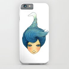 the girl with swan hair Slim Case iPhone 6s