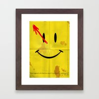 The Comedian Framed Art Print