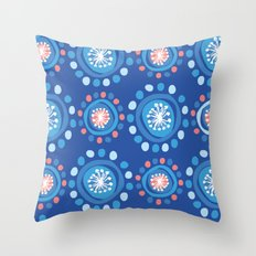 Bubbly Pattern Throw Pillow