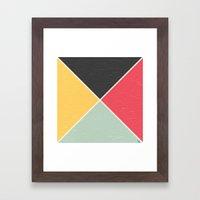 Quarters Framed Art Print