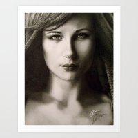 Katya Art Print