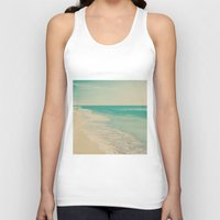 Love Comes In Sea Waves Unisex Tank Top
