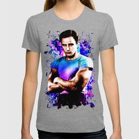 Marlon Brando, Color Sou… Womens Fitted Tee Tri-Grey SMALL