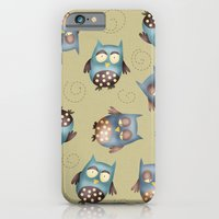 owls iPhone & iPod Cases featuring Owls by Catru