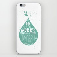 10/52: Matthew 6:34 iPhone & iPod Skin