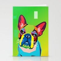dog Stationery Cards featuring dog by mark ashkenazi