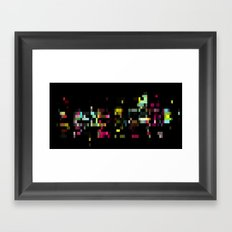 PXL III Framed Art Print