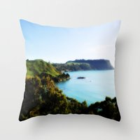 North Coast - Tasmania Throw Pillow