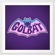 Focus Your Inner Bat Art Print