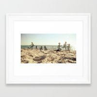 Summers Long Gone Framed Art Print