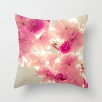 Somewhere Behind The Pin… Throw Pillow