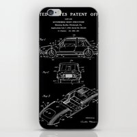 Automobile Body Patent - Black iPhone & iPod Skin