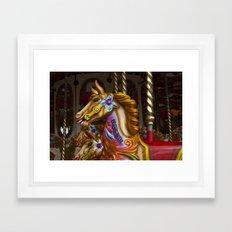 Crazy Horses Framed Art Print